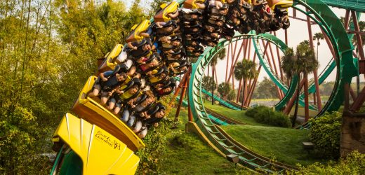 These roller coasters will throw you for a loop