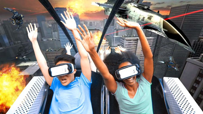 The ups (and downs) of virtual reality coasters