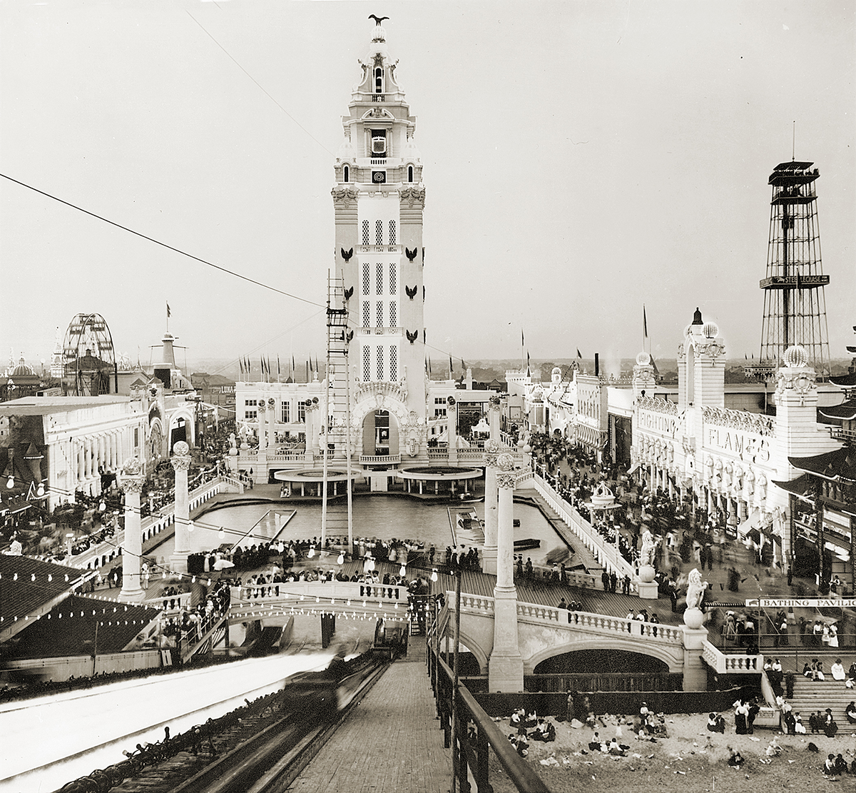 Ride Back in Time at Coney Island
