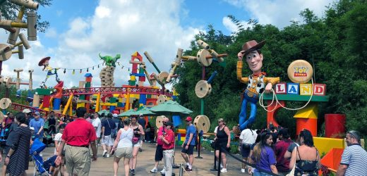 Imagineering a new (maskless) way to visit theme parks