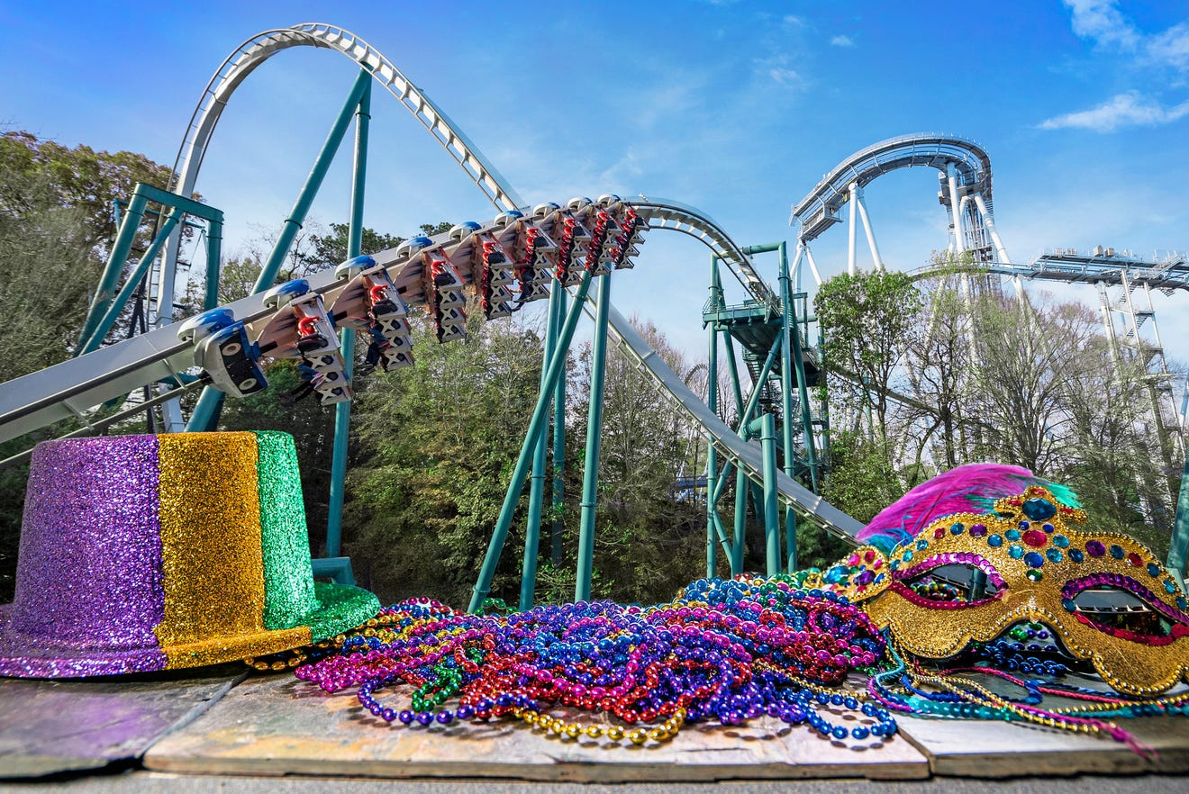 Want to go for a ride in January? The coaster is clear at these parks