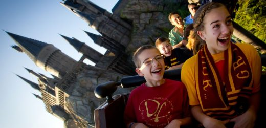 The Wildest Roller Coasters at Universal Orlando