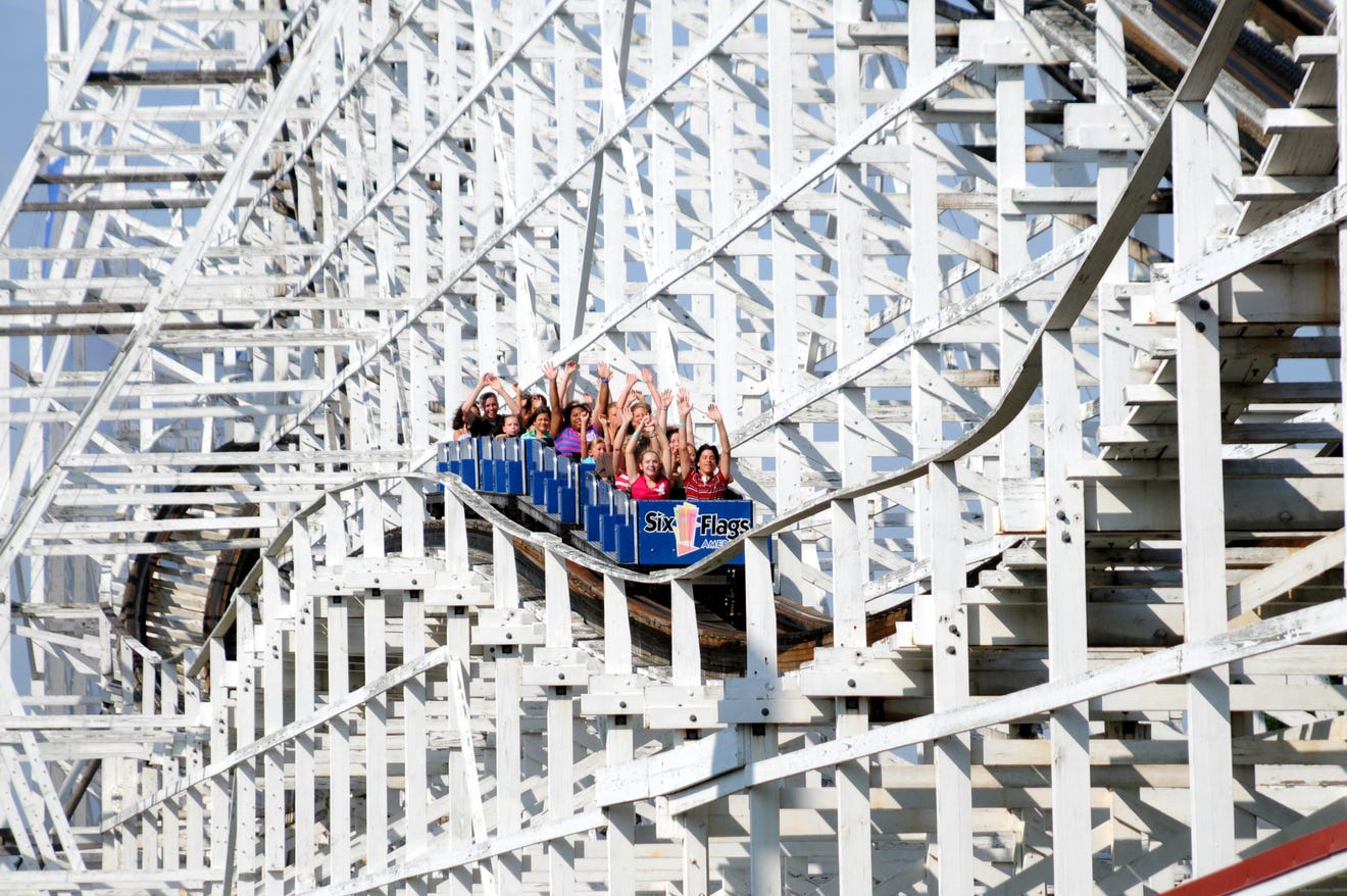 Take a ride back in time on National Roller Coaster Day